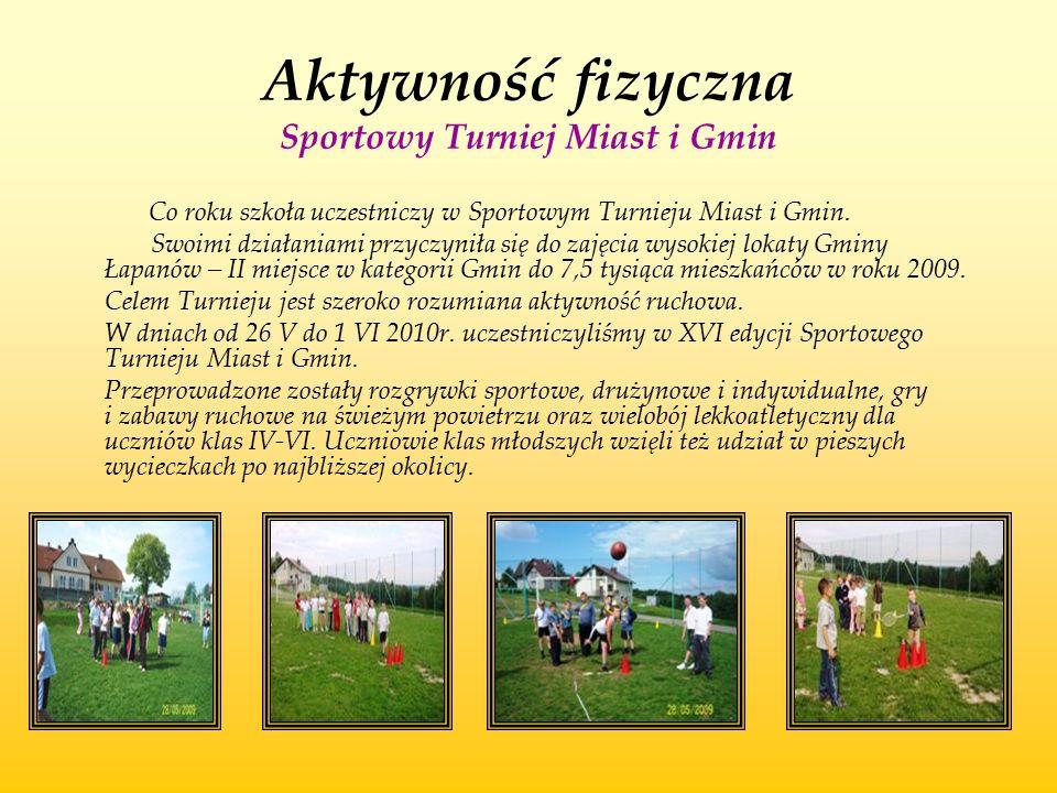 Aktywność fizyczna Sportowy Turniej Miast i Gmin