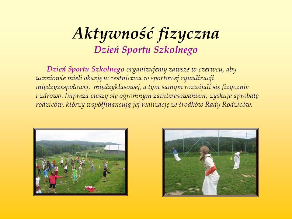 Aktywność fizyczna Dzień Sportu Szkolnego