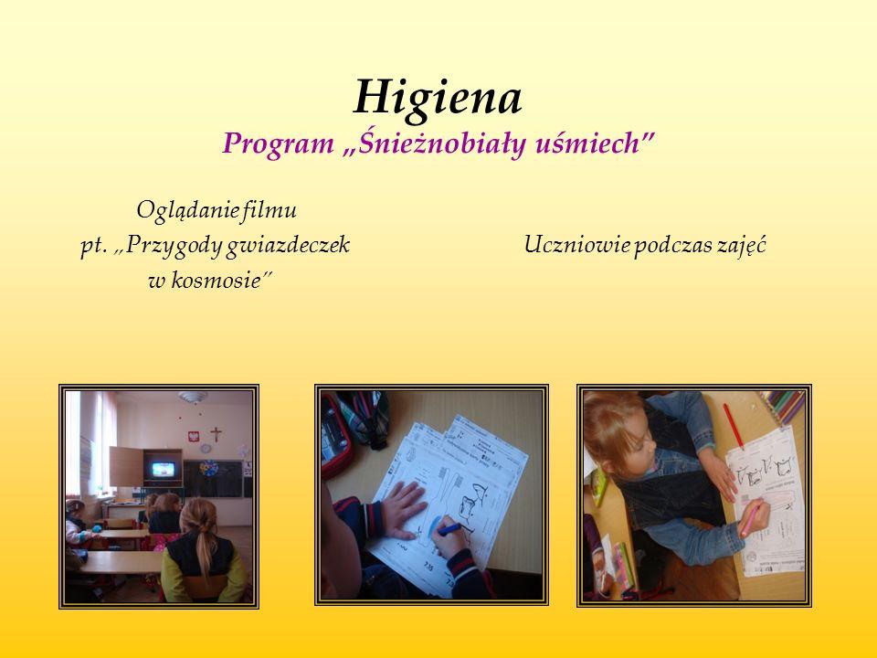 """Higiena Program """"Śnieżnobiały uśmiech"""