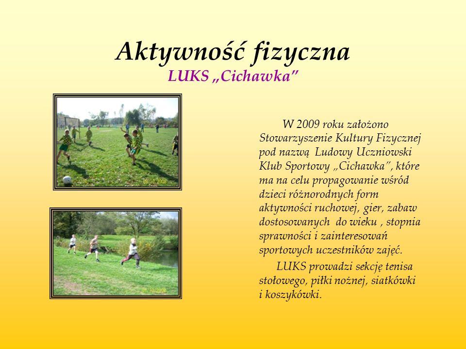 """Aktywność fizyczna LUKS """"Cichawka"""