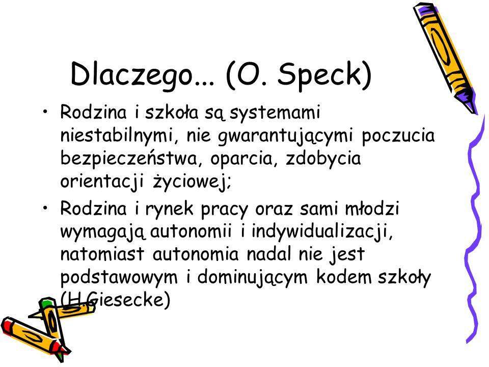 Dlaczego... (O. Speck)