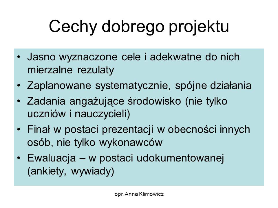 Cechy dobrego projektu