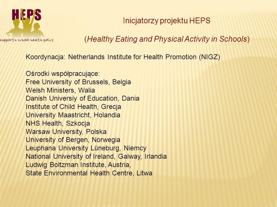 Inicjatorzy projektu HEPS