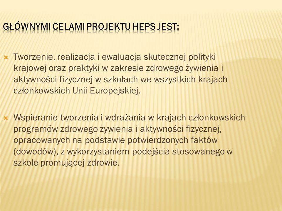 Głównymi celami projektu HEPS jest: