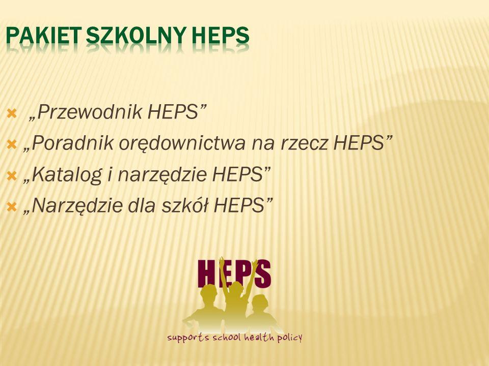 """Pakiet szkolny HEPS """"Przewodnik HEPS"""