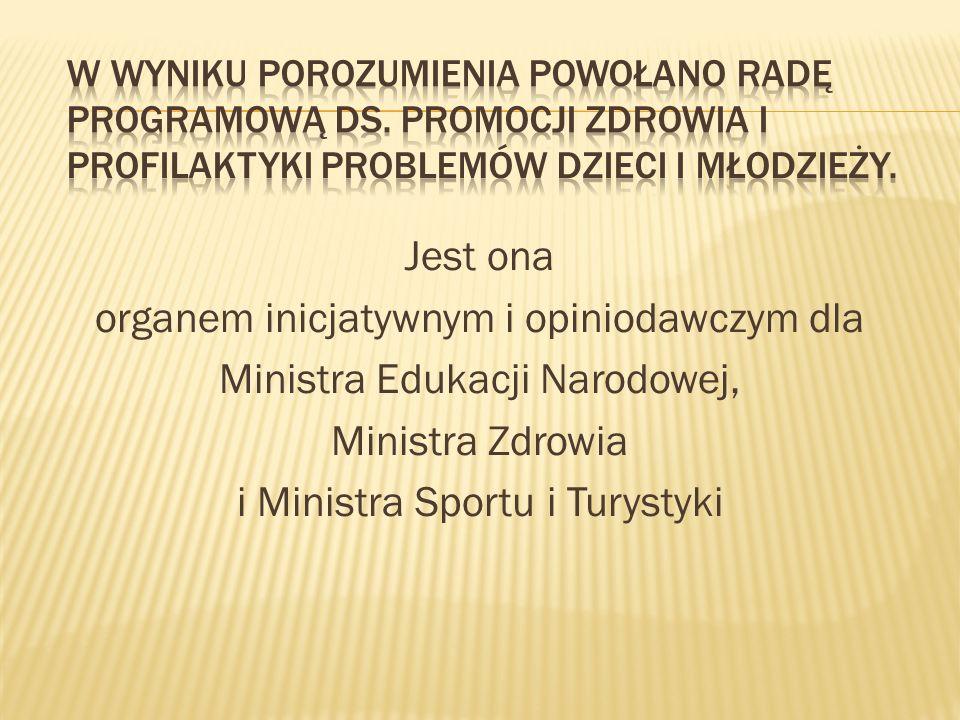 W wyniku Porozumienia powołano Radę Programową ds