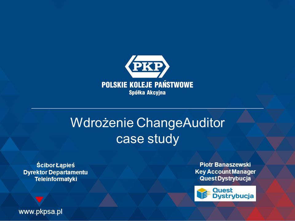 Wdrożenie ChangeAuditor case study