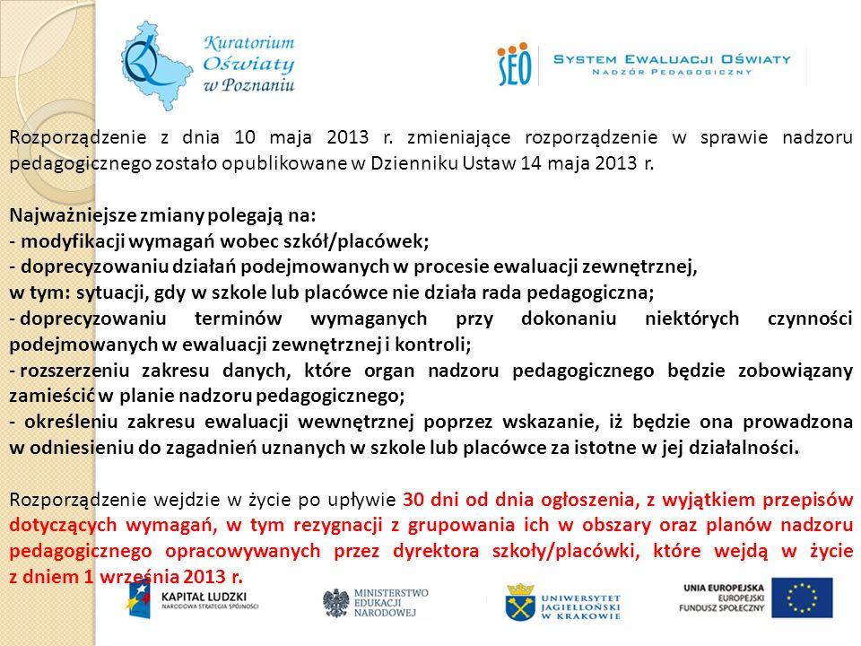 Rozporządzenie z dnia 10 maja 2013 r