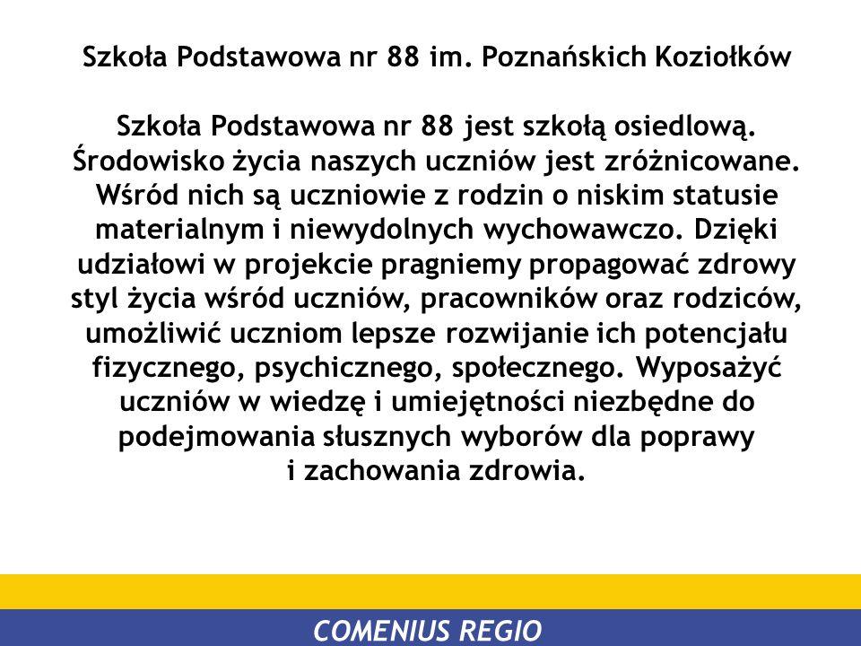 Szkoła Podstawowa nr 88 im. Poznańskich Koziołków