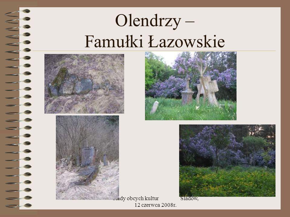 Olendrzy – Famułki Łazowskie