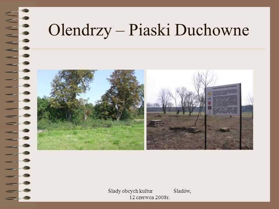 Olendrzy – Piaski Duchowne