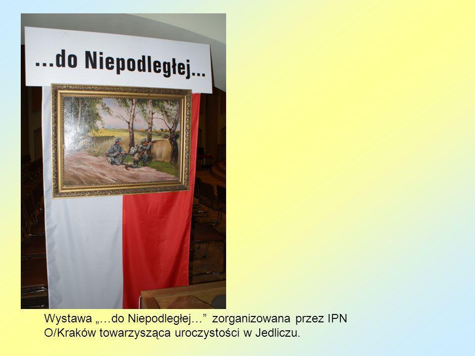 """Wystawa """"do Niepodległej zorganizowana przez historyka …………"""