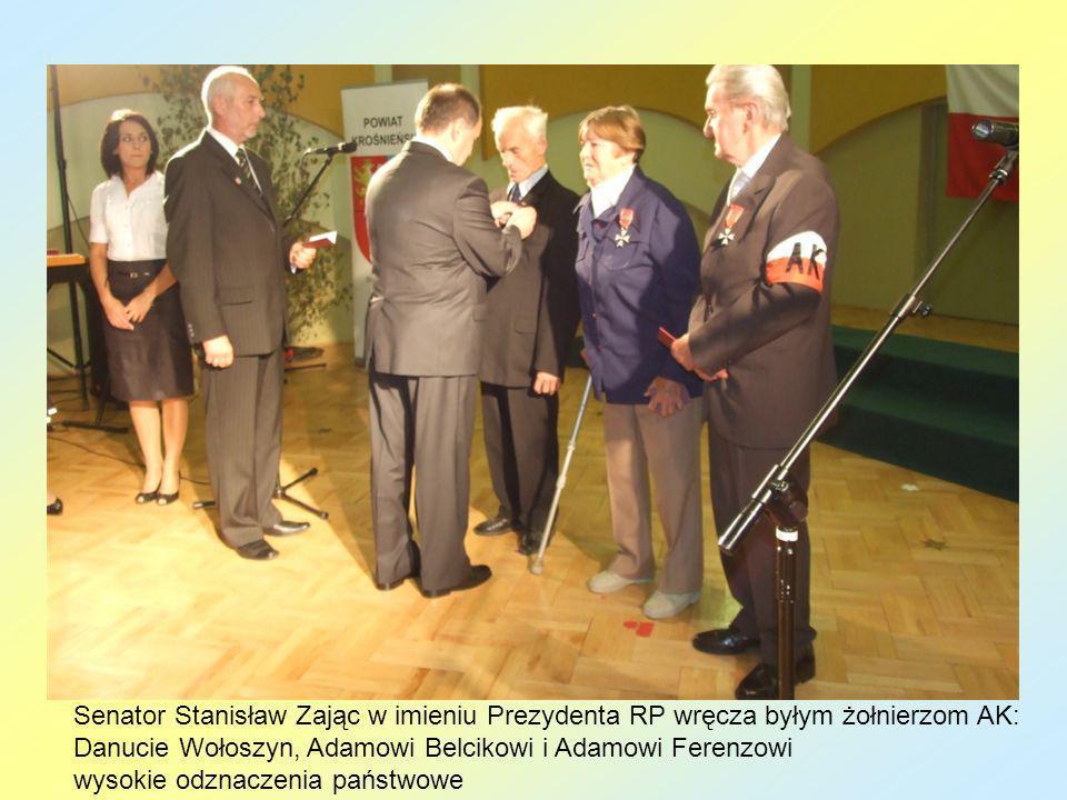 Danucie Wołoszyn, Adamowi Belcikowi i Adamowi Ferenzowi