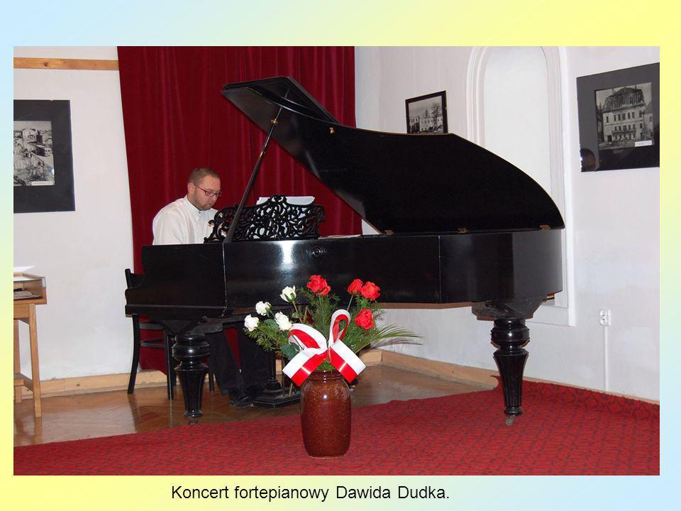 Koncert fortepianowy Dawida Dudka.
