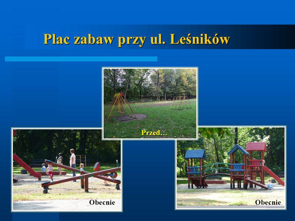 Plac zabaw przy ul. Leśników