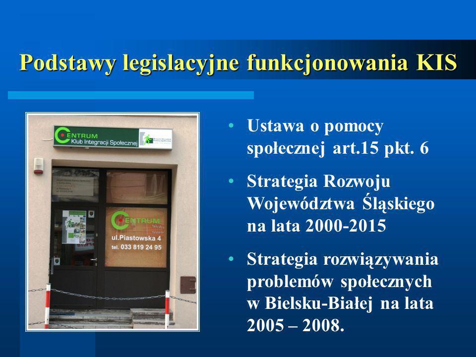 Podstawy legislacyjne funkcjonowania KIS