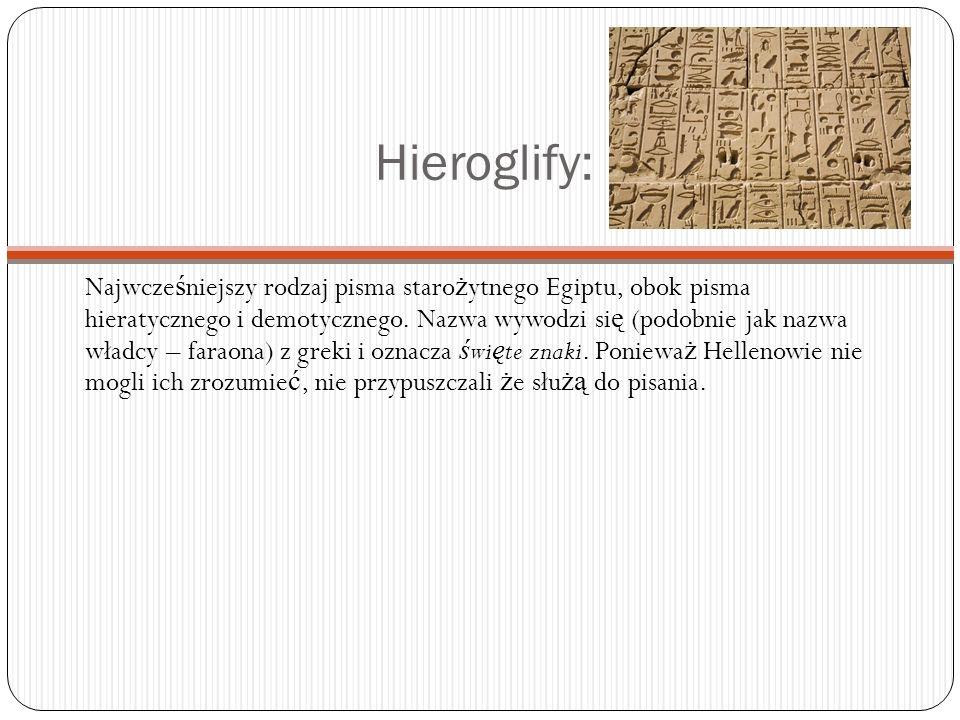 Hieroglify: