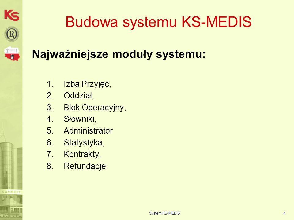 Budowa systemu KS-MEDIS