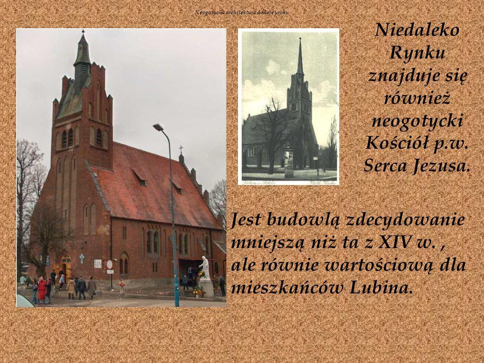 Neogotycka architektura dodaje uroku