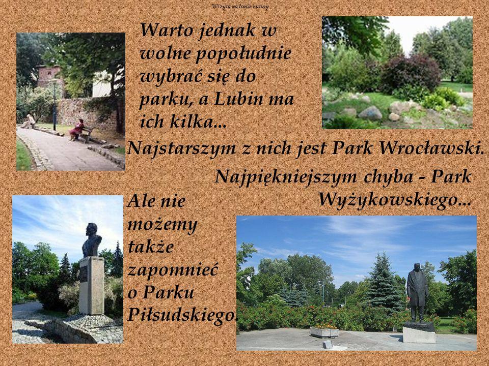 Najstarszym z nich jest Park Wrocławski.