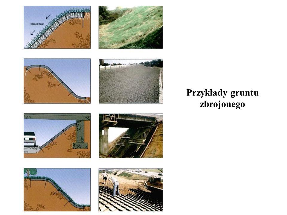 Przykłady gruntu zbrojonego