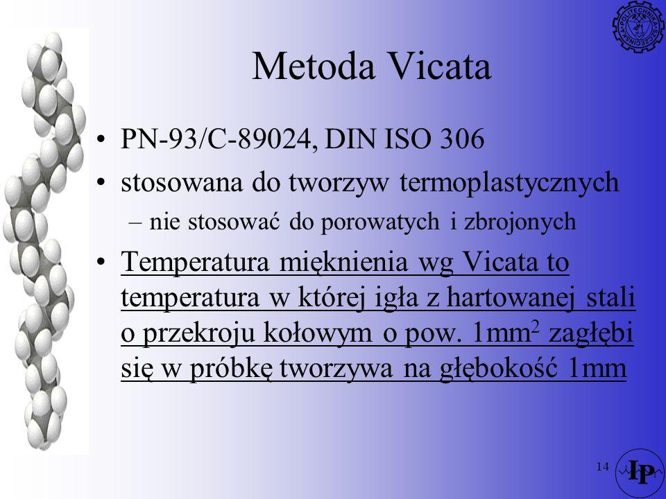 Metoda Vicata PN-93/C-89024, DIN ISO 306