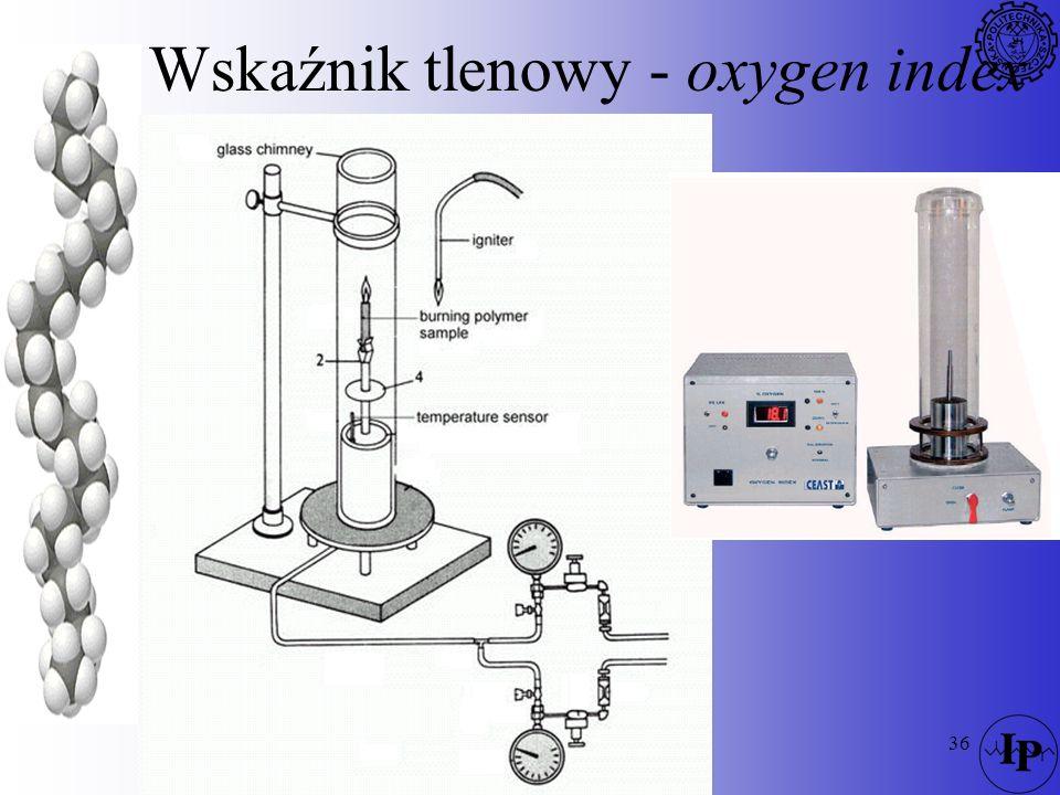 Wskaźnik tlenowy - oxygen index