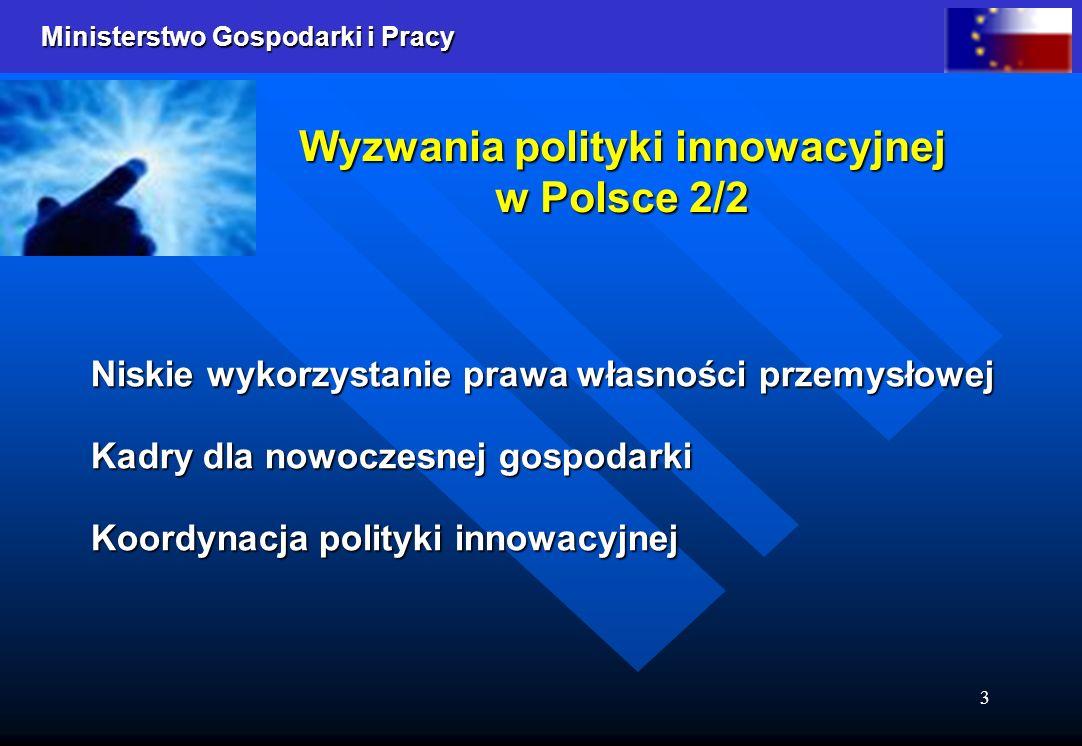 Wyzwania polityki innowacyjnej w Polsce 2/2