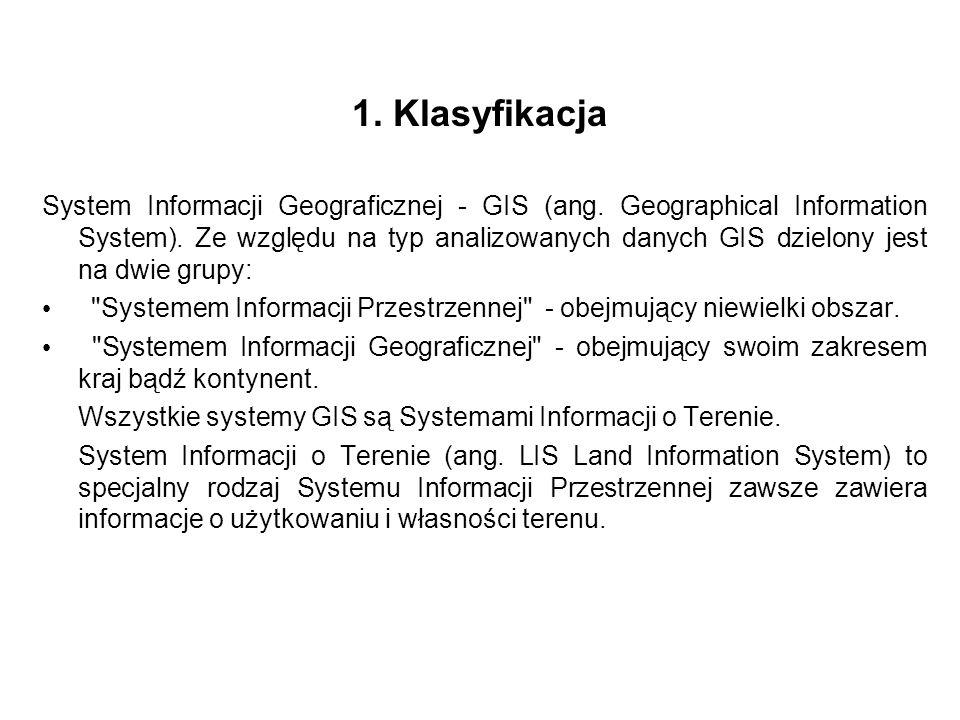 1. Klasyfikacja