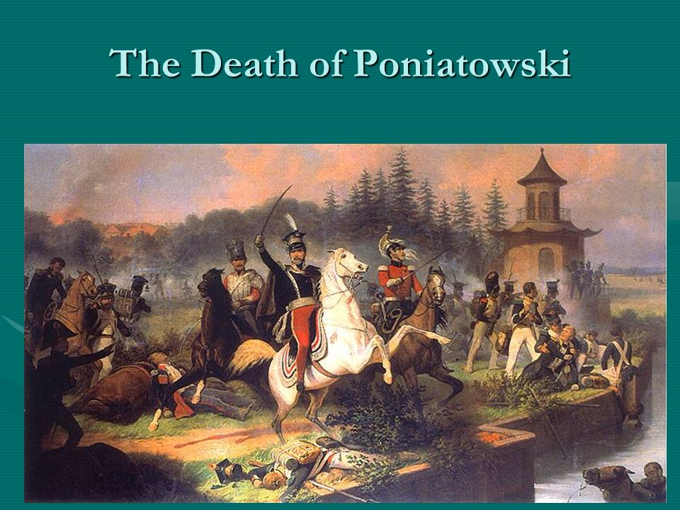 The Death of Poniatowski