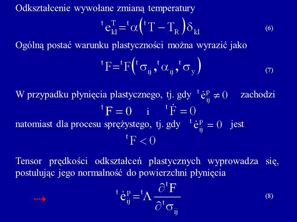 4 Odkształcenie wywołane zmianą temperatury