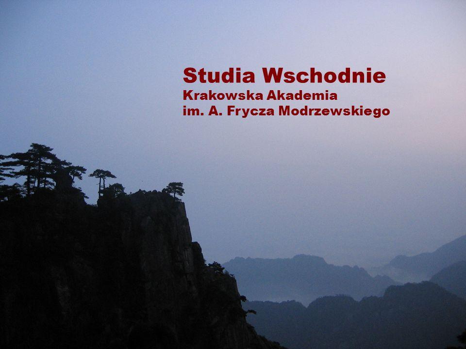 Studia Wschodnie Krakowska Akademia im. A. Frycza Modrzewskiego
