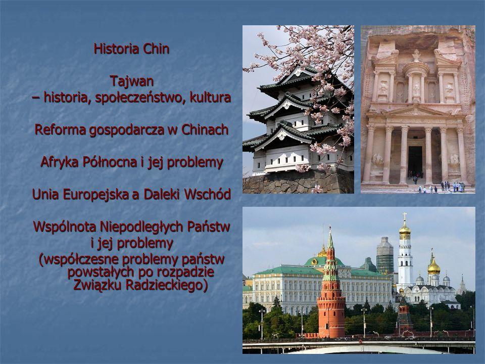 – historia, społeczeństwo, kultura Reforma gospodarcza w Chinach