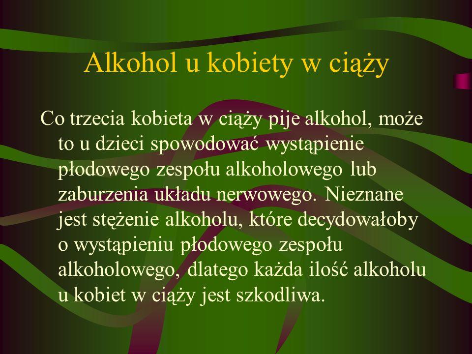 Alkohol u kobiety w ciąży