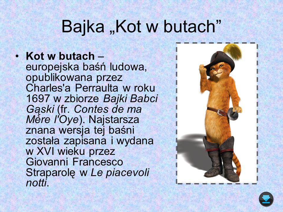 "Bajka ""Kot w butach"