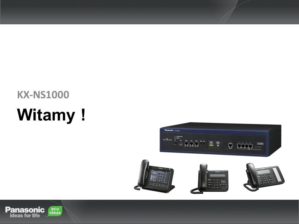 KX-NS1000 Witamy !