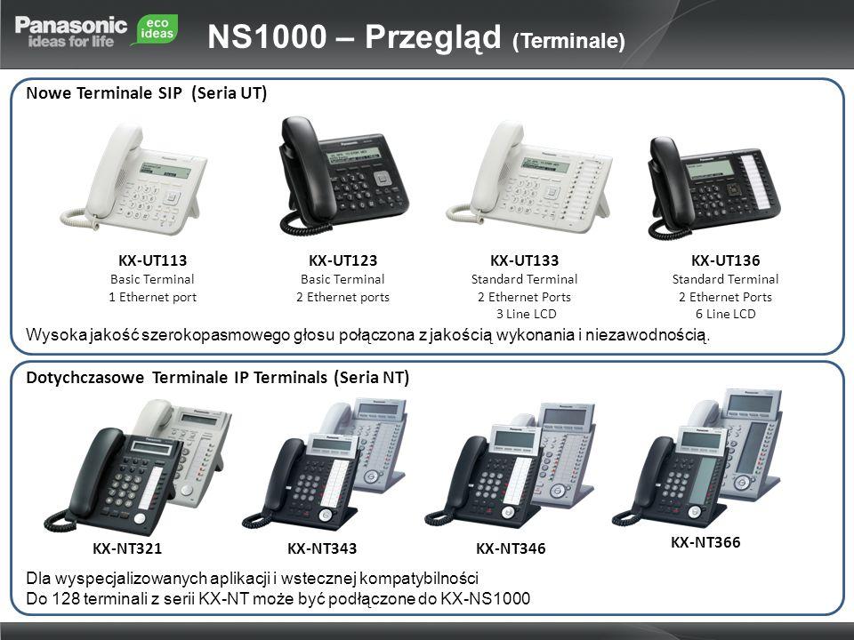 NS1000 – Przegląd (Terminale)