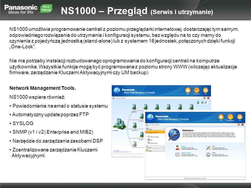 NS1000 – Przegląd (Serwis i utrzymanie)