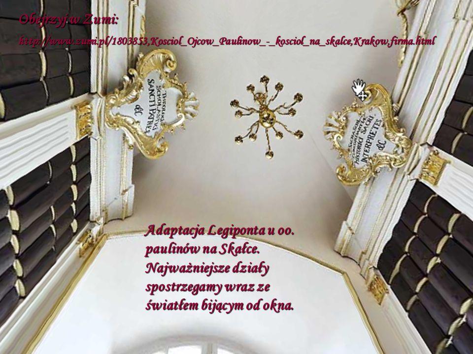Obejrzyj w Zumi: http://www.zumi.pl/1803853,Kosciol_Ojcow_Paulinow_-_kosciol_na_skalce,Krakow,firma.html.