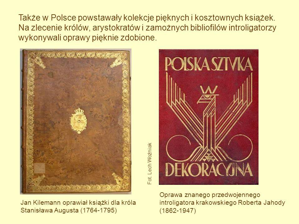 Także w Polsce powstawały kolekcje pięknych i kosztownych książek