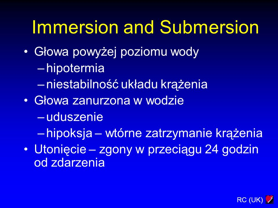 Immersion and Submersion