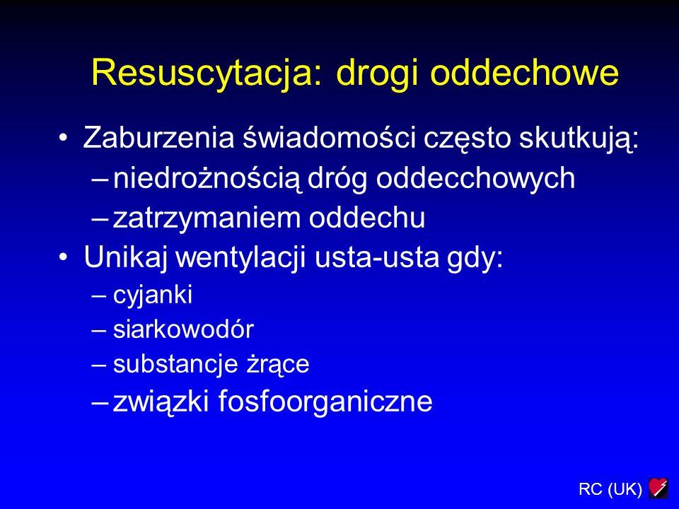 Resuscytacja: drogi oddechowe