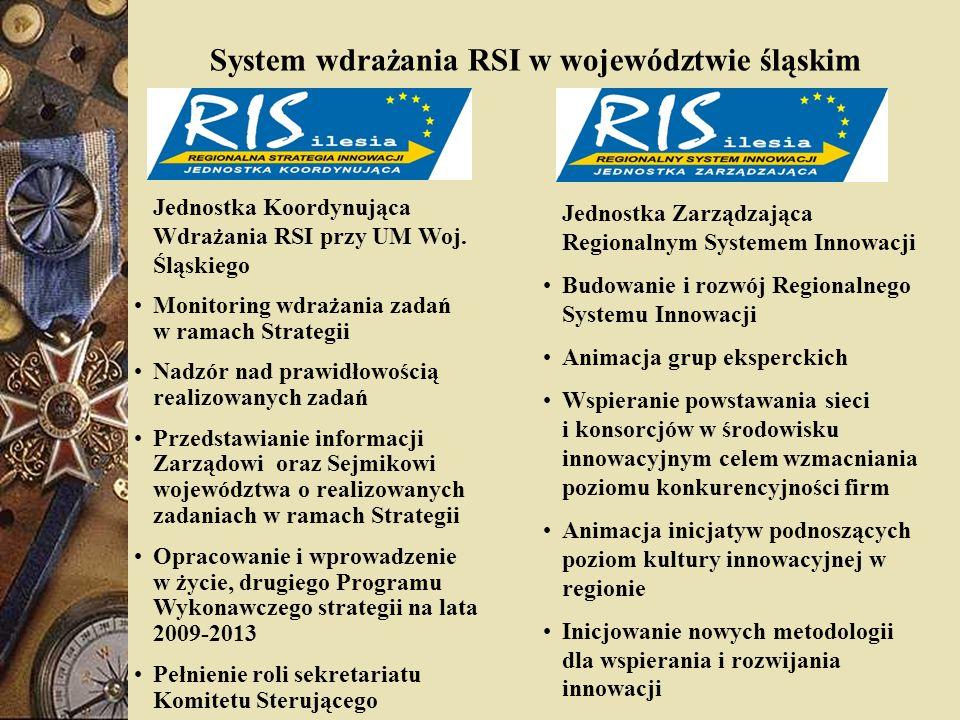 System wdrażania RSI w województwie śląskim