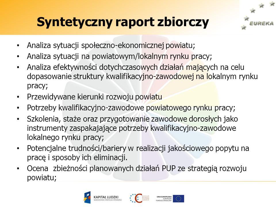 Syntetyczny raport zbiorczy