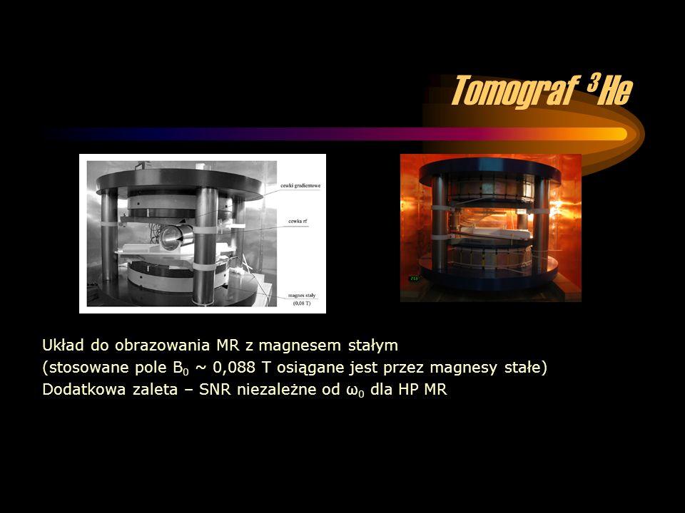 Tomograf 3He Układ do obrazowania MR z magnesem stałym