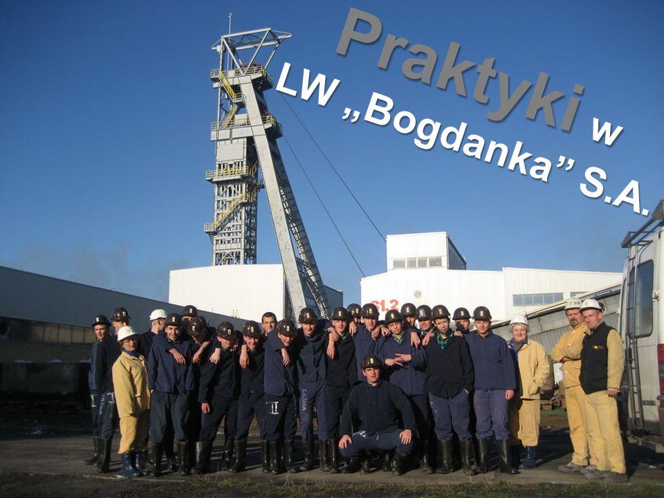 """Praktyki w LW """"Bogdanka S.A."""