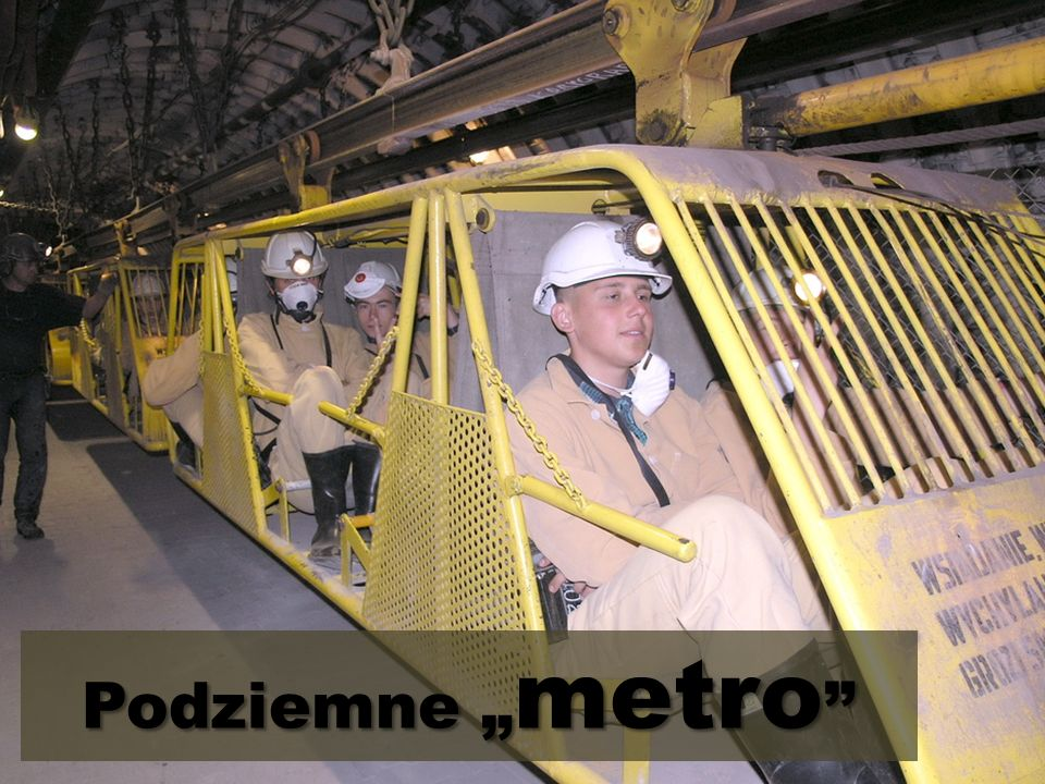 """Podziemne """"metro"""