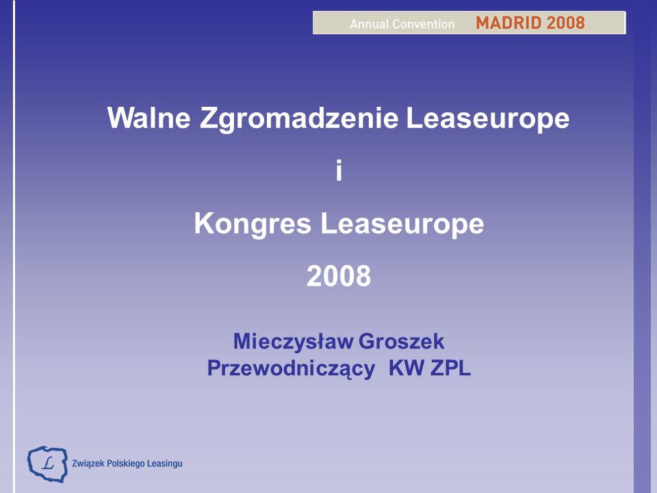 Walne Zgromadzenie Leaseurope