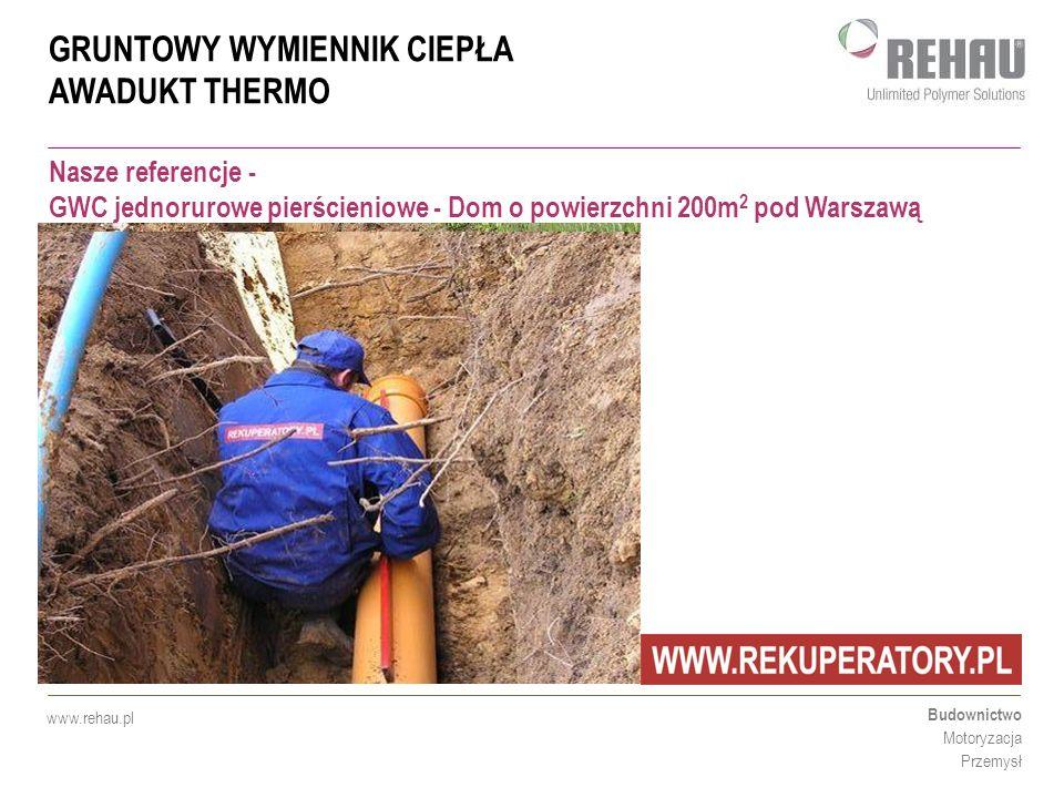 Nasze referencje - GWC jednorurowe pierścieniowe - Dom o powierzchni 200m2 pod Warszawą