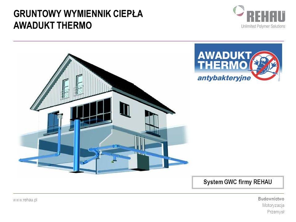 System GWC firmy REHAU